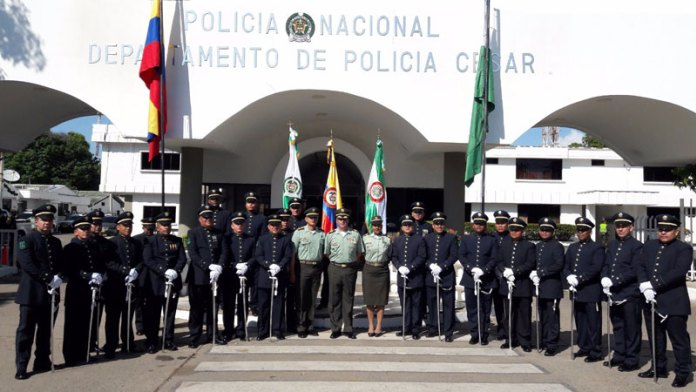 La polic a del departamento del cesar conmemor los 127 a os de la polic a nacional - Oficina del policia ...