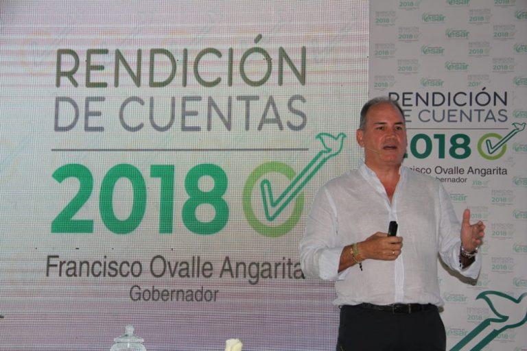 2,6 billones de pesos ha invertido la administración de Francisco Ovalle en el Cesar