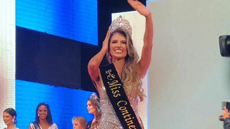 ¡Orgullo vallenato!: Anairis Cadavid nueva Miss Continentes Unidos 2019