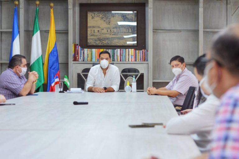Nuevo diálogo entre alcalde de Valledupar y comerciantes