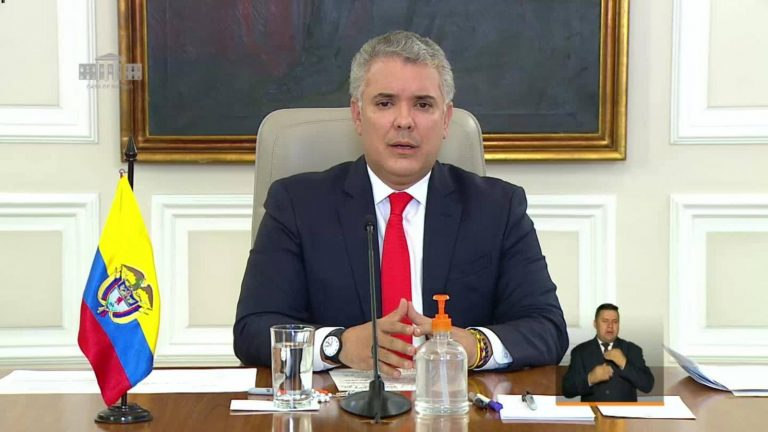 «Estamos lejos de superar la pandemia», Presidente de Colombia