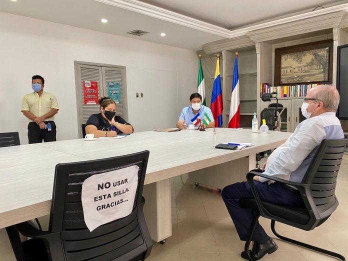 Alcaldía de Valledupar se reúne con comunas