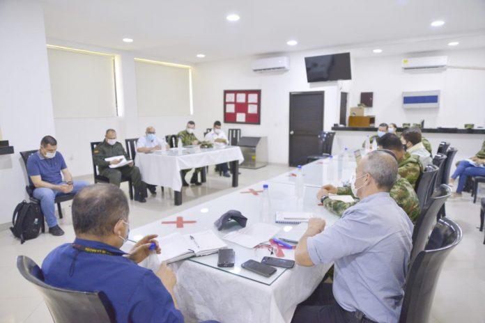 Consejo de seguridad por atentados en el Cesar