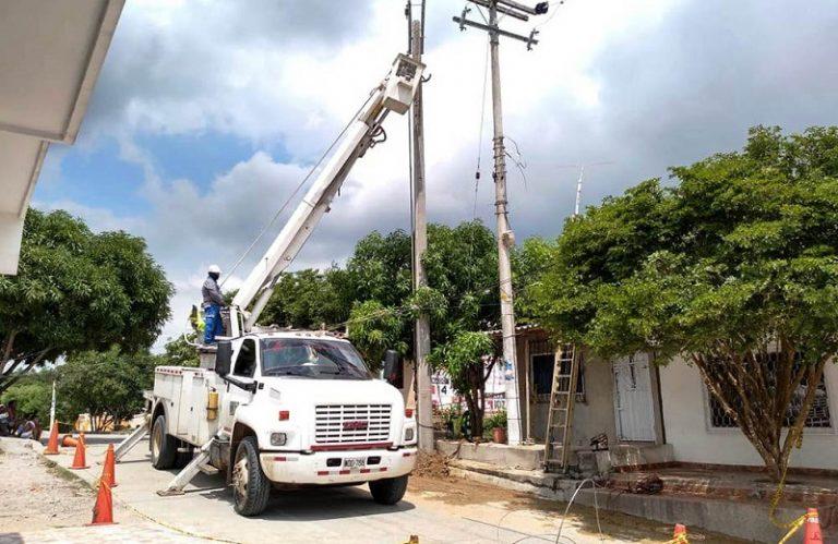 Hoy varios municipios del Cesar no tendrán energía electéctrica