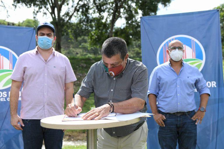 Áreas de la quebrada Buturama en Aguachica, serán protegidas con sistemas agroforestales