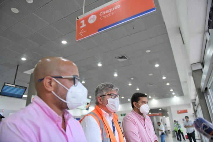 Aeronáutica Civil visitó aeropuerto Alfonso López