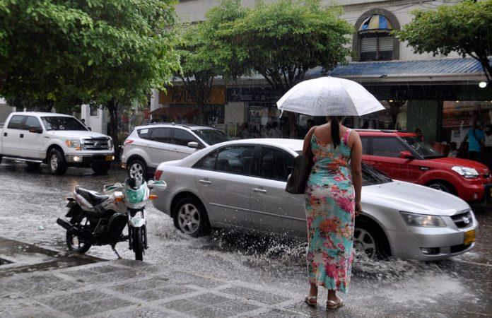 Temporadas de lluvias en el Cesar