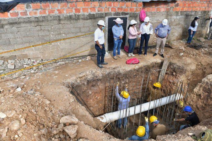 Acueducto en Aguachica