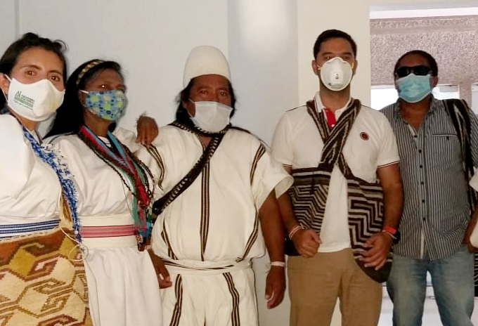 Elección pueblo Arhuaco