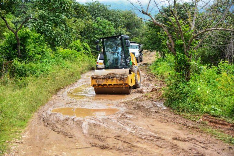 Inauguran obras de mejoramiento vial entre La Mesa – El Mamón