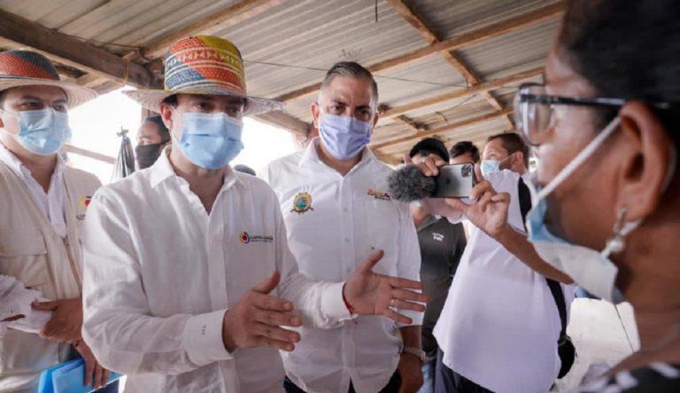 Tras visita del Contralor al Acueducto de Camarones, Gobernación de la Guajira surte de agua potable a la comunidad