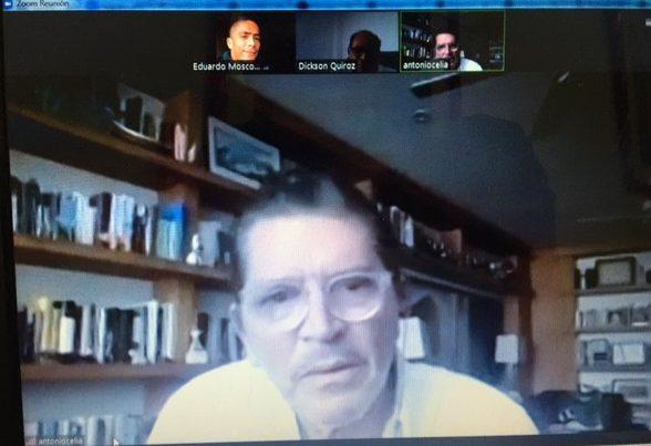 Antonio Celia en entrevista con Enfoque Vallenato