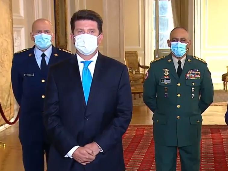 Las claves del discurso de Diego Molano como nuevo Ministro de Defensa