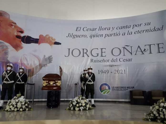 Cronología del último adiós de Jorge Oñate en Valledupar