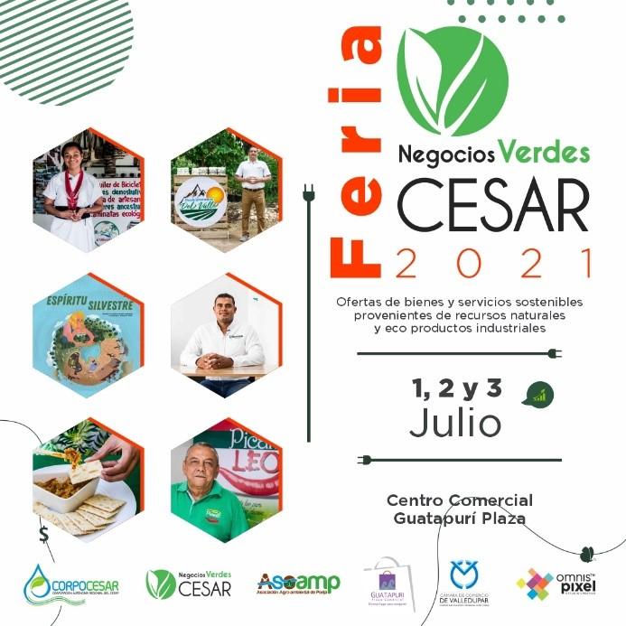 3 días de Feria de Negocios Verdes en Valledupar, por Corpocesar