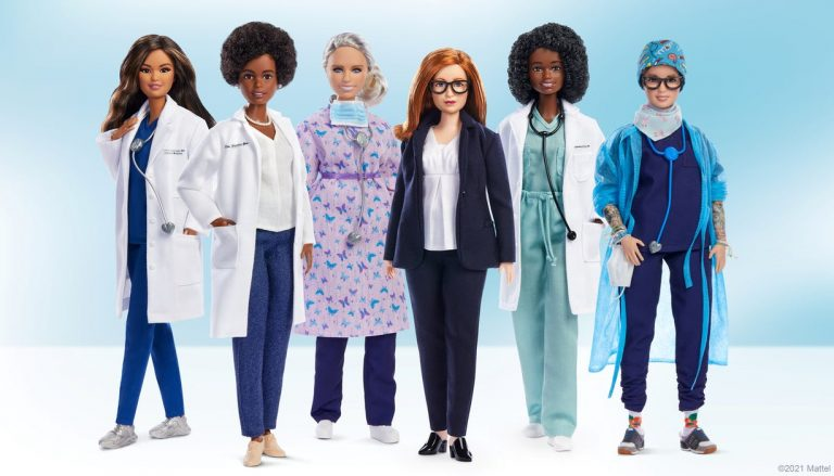 Mattel y Barbie, se inspiraron en científicas, médicas y enfermeras que enfrentan el Covid – 19