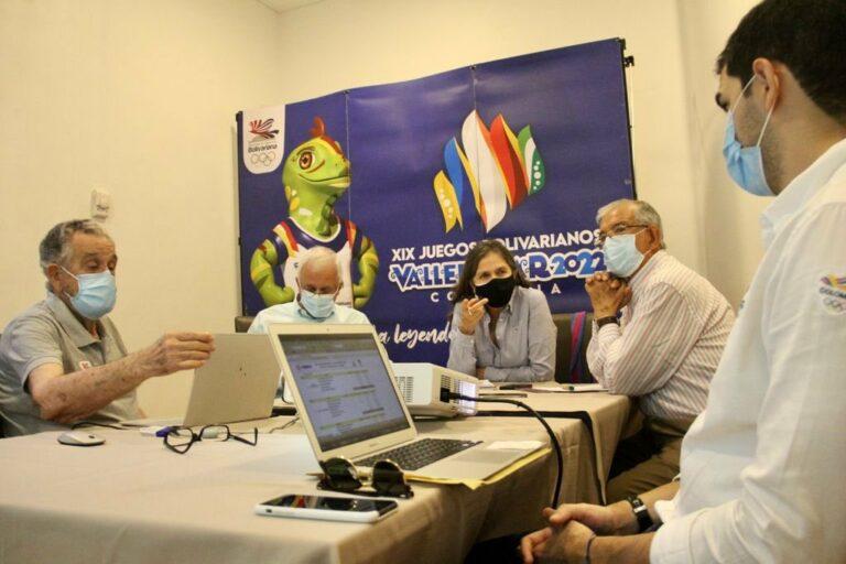 Debaten programa técnico para agregar nuevas competencias a los Juegos Bolivarianos 2022