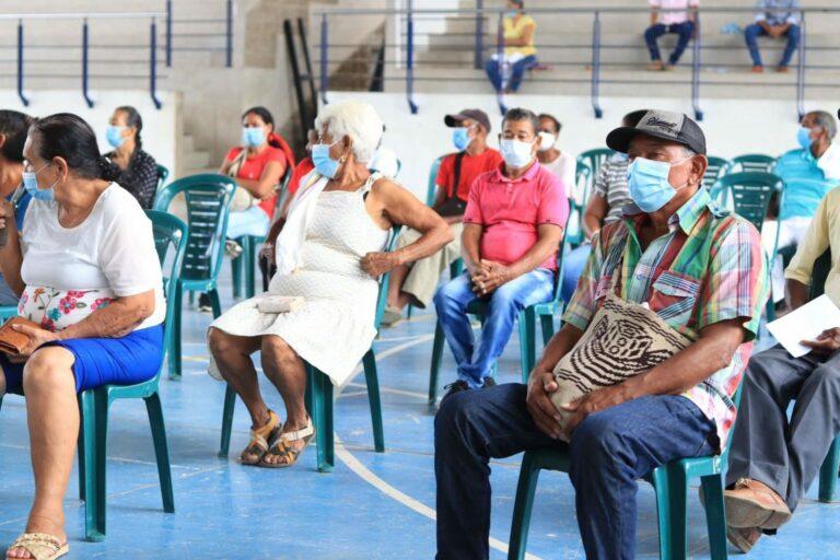 En Chiriguaná, víctimas del conflicto armado recibieron indemnización