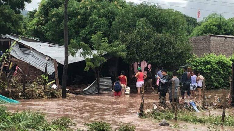 Lluvias generan estragos en Casacará, corregimiento de Codazzi
