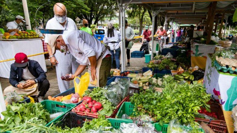 En Valledupar el mercado campesino superó la meta propuesta