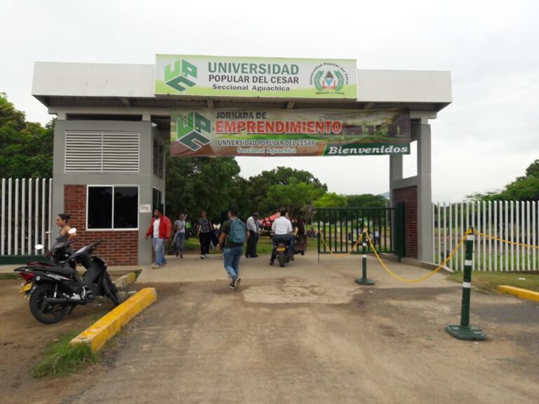 Nuevas aulas en sede de la UPC Aguachica avanzan en un 69%