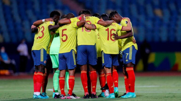 Tabla de posiciones Eliminatorias tras fecha 11, empate de Colombia vs. Brasil