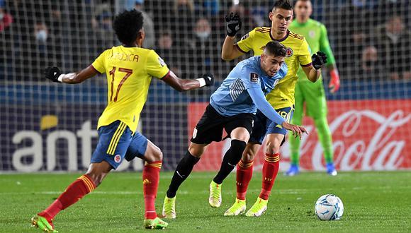 Colombia, 0-0 en Uruguay; Duván Zapata botó el triunfo y no se la perdonaron